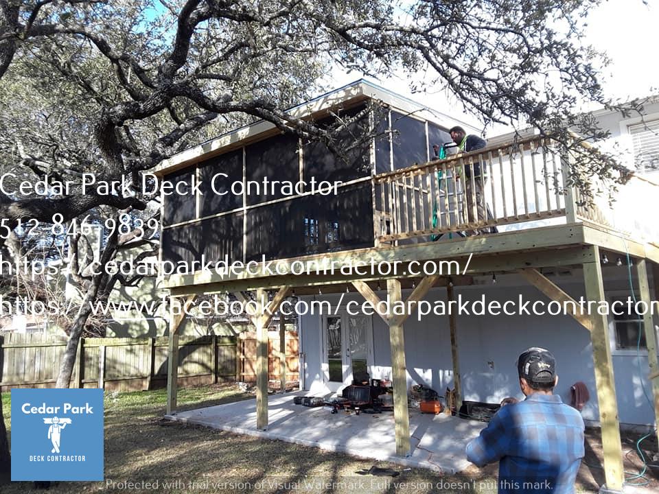 Cedar Park TX Deck Builder